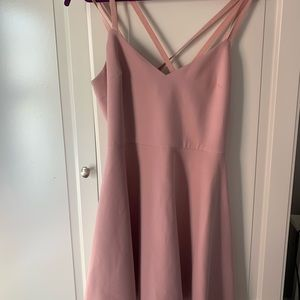 French Connection Crossback Fit and Flare Dress